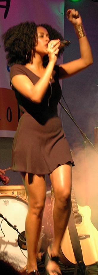 Mary Summer beim Afrika-Festival Böblingen